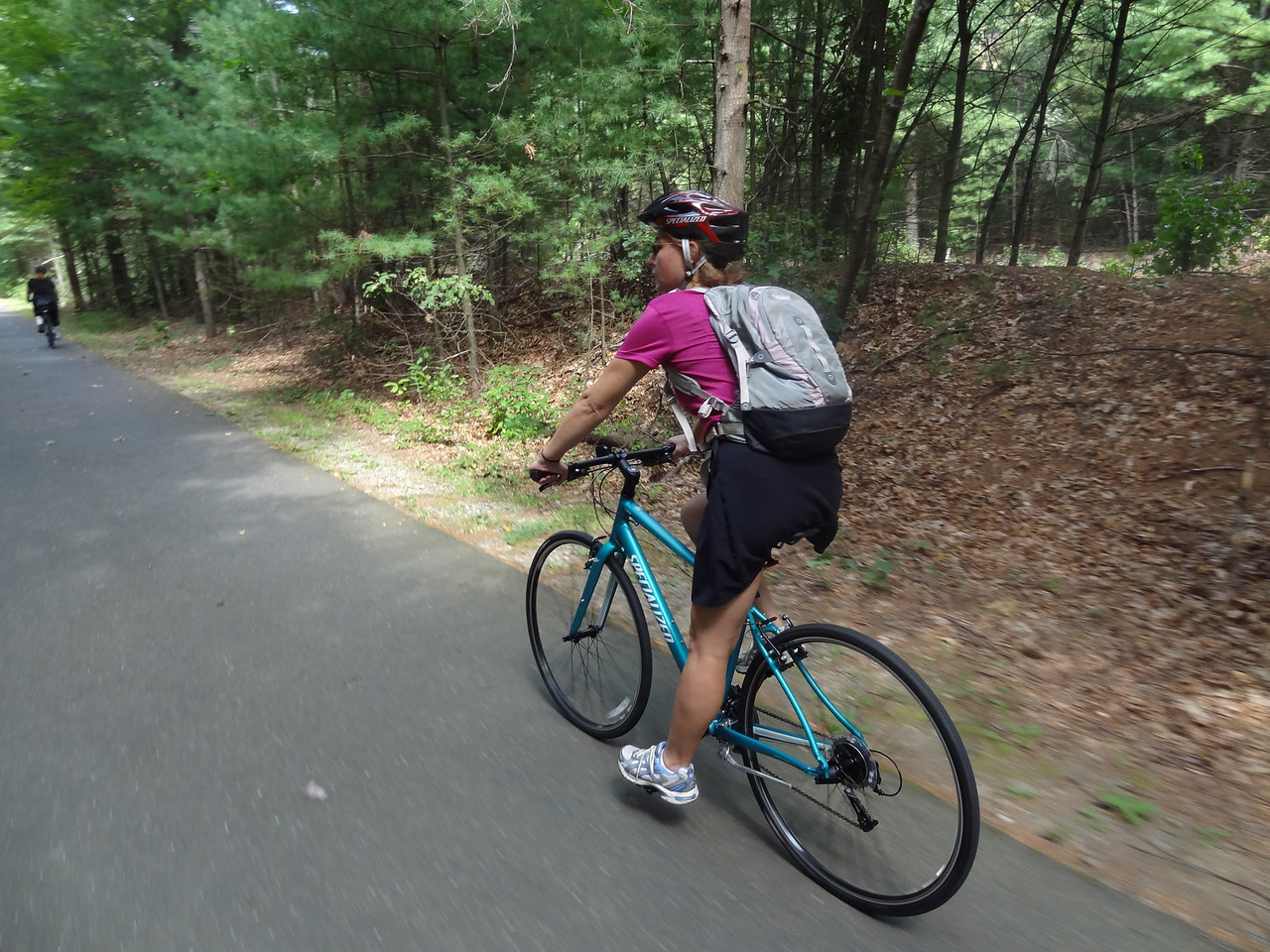 Anna's new bike: a Specialized Maneater II.