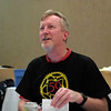 Jim Redpath, volunteer coordinator and infamous rider #1.