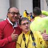 Mayor Coleman and Greg Siple.