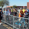 About 160 riders for the 25 mile; almost a thousand for the 72 mile race
