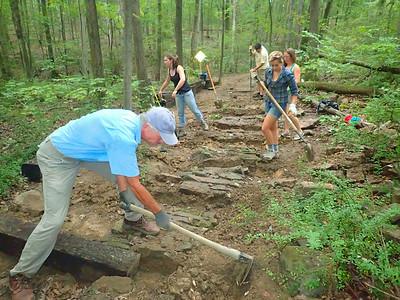 Trail Work 2014