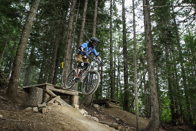 Whistler Bike Park, July 2013