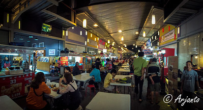 D-1: Sudirman Street Food Court