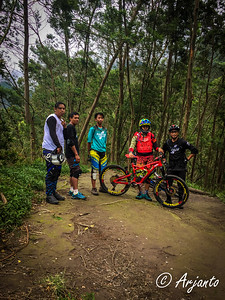 Day 1: Action before riding @ Sapu Angin