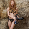 Bikini Goddess with Dreadlocks Shooting Stills & Video with Nikon D800 E : Bikini Goddess with Dreadlocks Shooting Stills & Video with Nikon D800 E and Camcorder