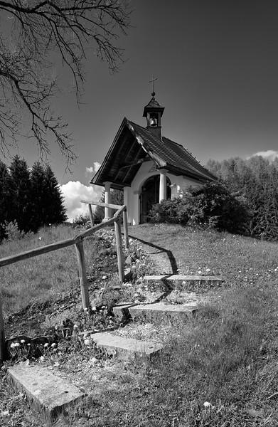 St. Magdalena Kapelle, Rieden am Forggensee, Ostallgäu, Bayern, Deutschland