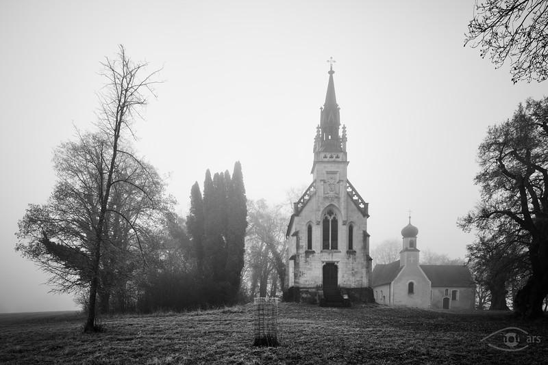 Gruftkapelle St. Antonius und St. Anna, Antoniberg an der Donau, Stepperg, Bayern, Deutschland