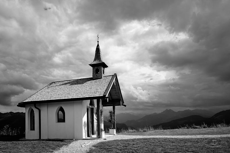 Kapelle an der Steinbockalm, Dienten am Hochkönig, Salzburger Land, Österreich