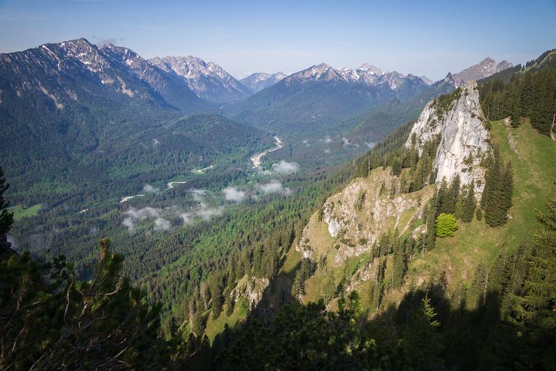 Blick vom Pürschlinghaus aus, Bayern, Deutschland