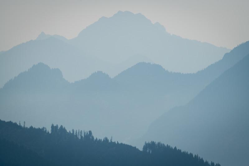 Weite Landschaft vom Pürschlinghaus aus gesehen, Bayern, Deutschland