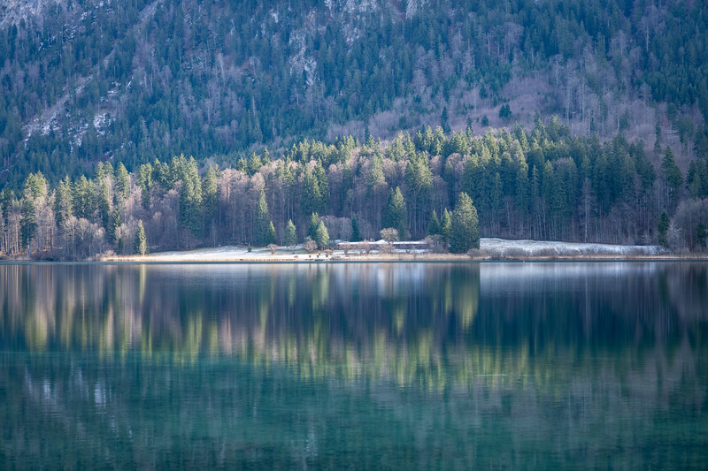 Alpsee, Schwangau, Oberbayern, Bayern, Deutschland