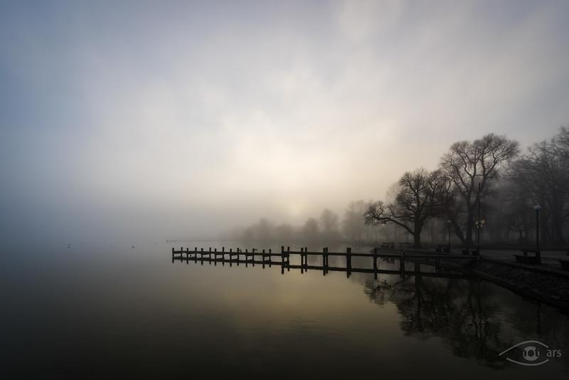 Sonnenaufgang am Ammersee, Dießen am Ammersee, Oberbayern, Bayern, Deutschland