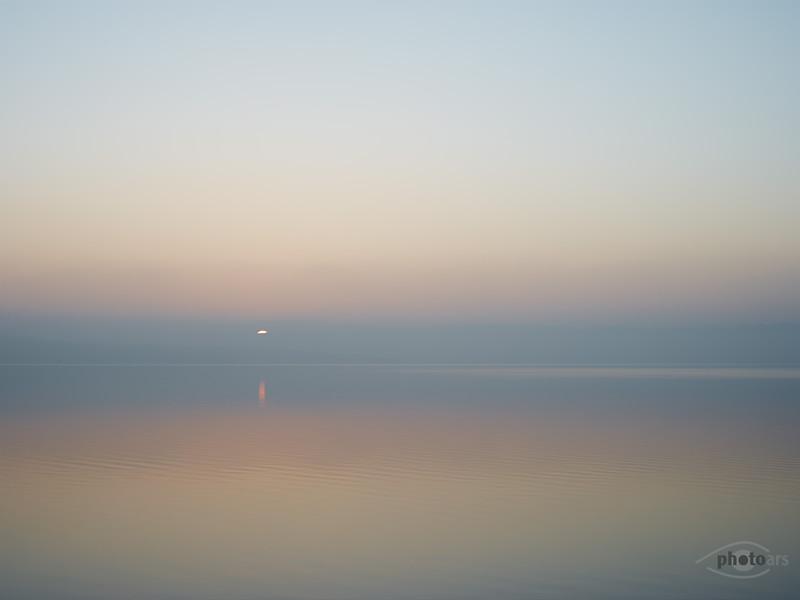 Sonnenaufgang am Ammersee, Utting am Ammersee, Bayern, Deutschland