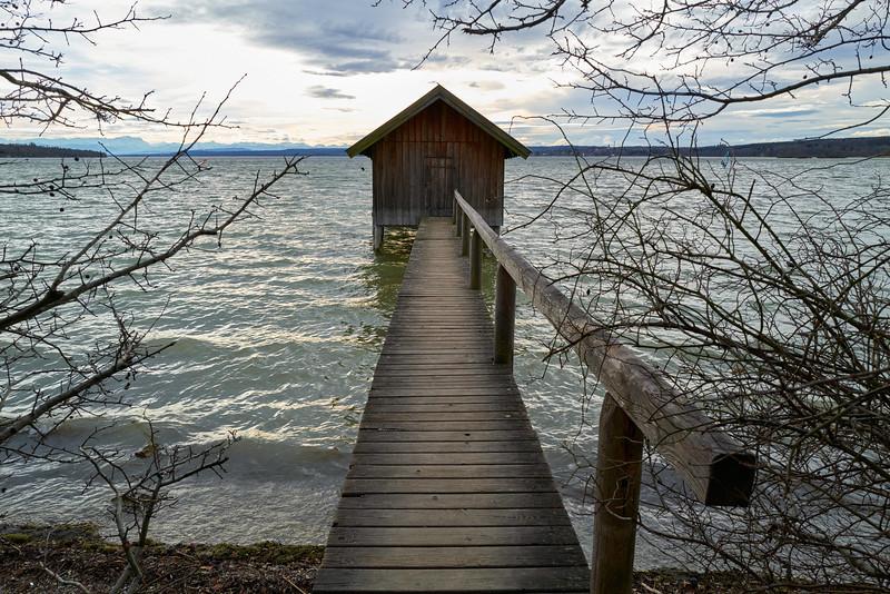 Stegen am Ammersee, Oberbayern, Bayern, Deutschland