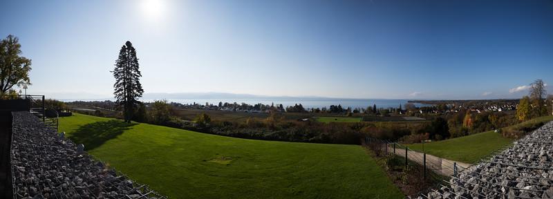 Panorama über den Bodensee, Kressbronn
