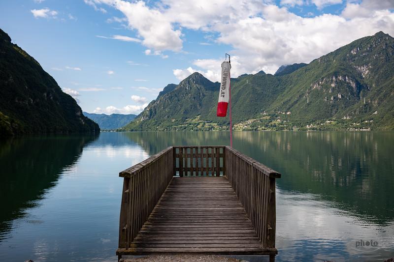 Lago d'Idro, Trentino-Alto Adige, Italien