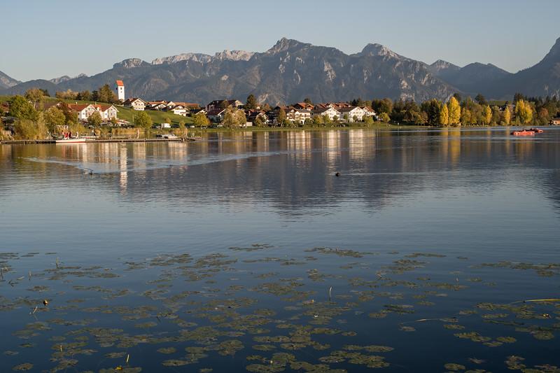 Um den Hopfensee, Füssen, Ostallgäu, Bayern, Deutschland