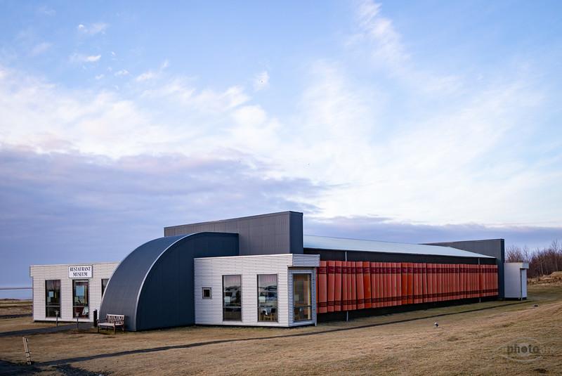 Island, Vatnajökull, Häuser, Architektur