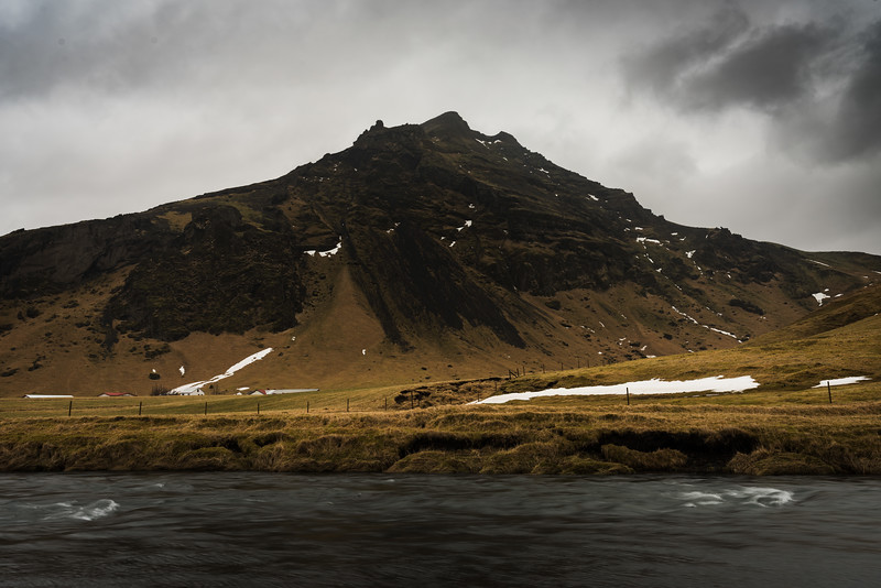 Island, Suðurland, Skógafoss, Wasserfall