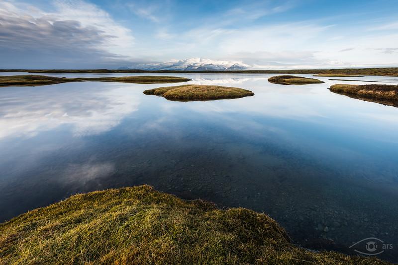 Island, Vatnajökull, See, Berg, Himmel, Gletscher