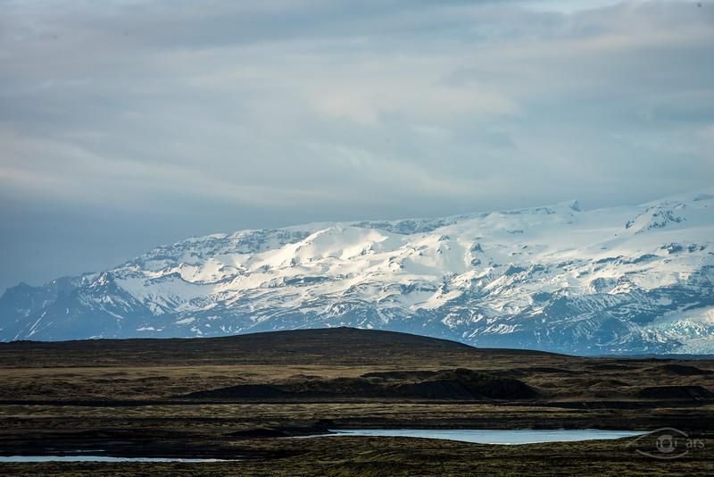 Island, Vatnajökull, Berg, Himmel, Gletscher