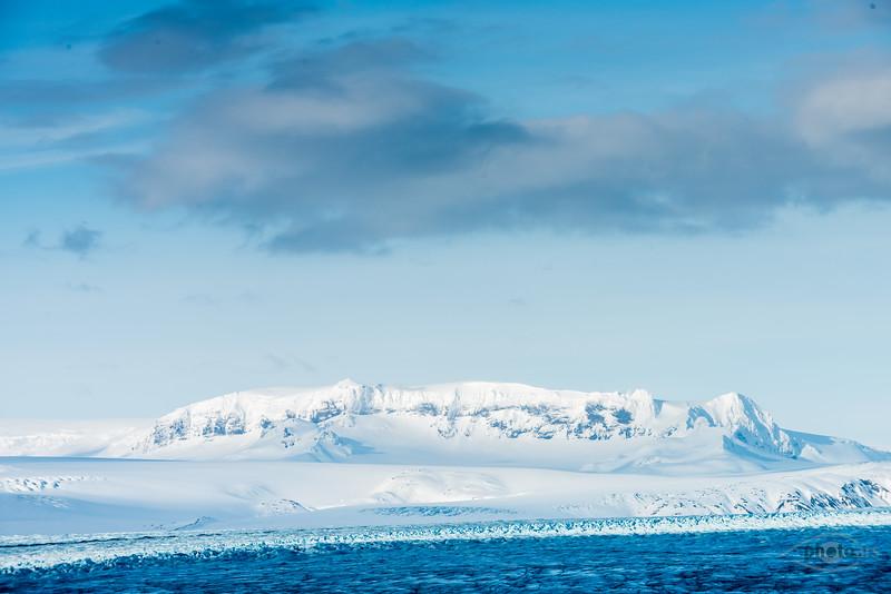 Island, Berge, Gletscher, See, Vatnajökull