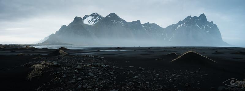 Island, Austurfjorur, Fjord, Wasser, Berg, Küste