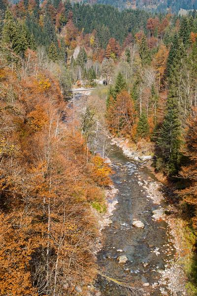 Breitach bei Riezlern, Kleinwalsertal, Österreich