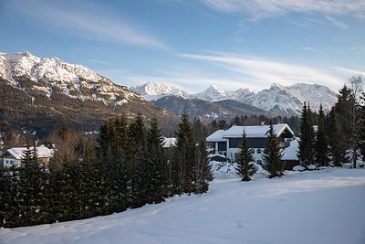 Alpenpanorama bei Krün, Oberbayern, Bayern, Deutschland