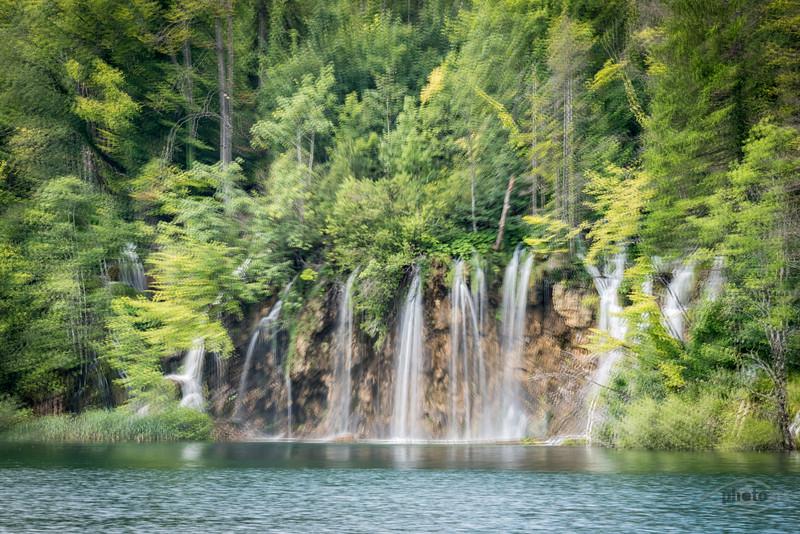 Wasserfälle, Plitvicer Seen, Kroatien