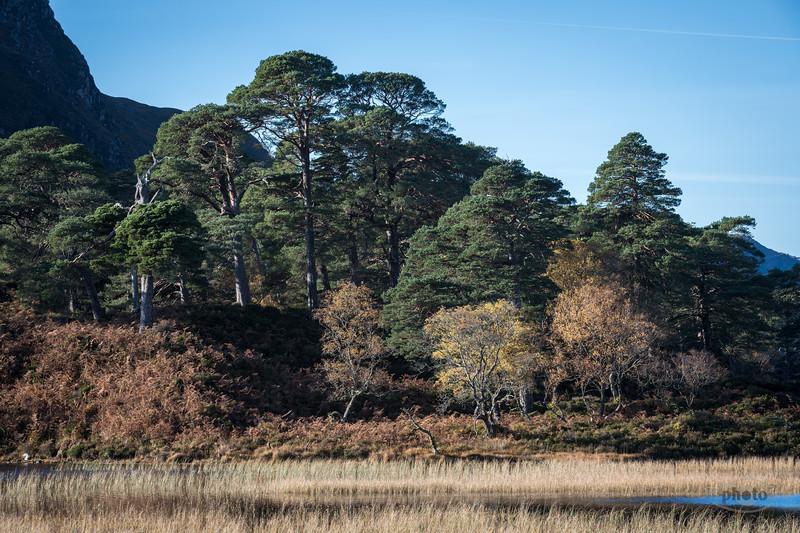 Loch Clair, Highlands, Schottland