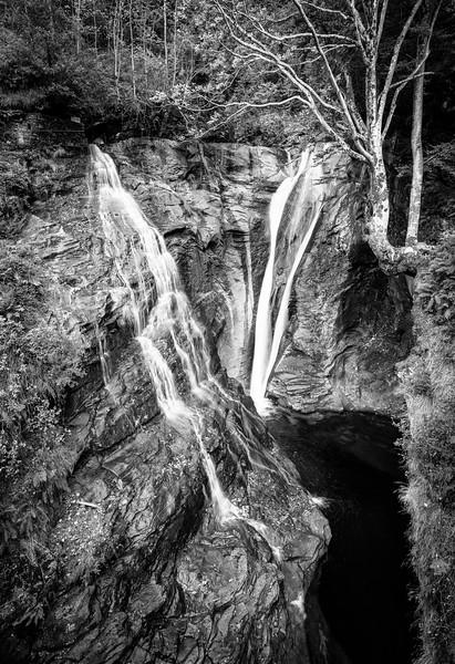 Cascata Riale Efra, Frasco, Verzasca-Tal, Ticino, Schweiz