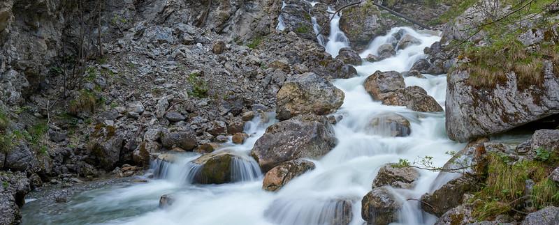 Kuhfluchtwasserfall, Farchant, Oberbayern, Bayern, Deutschland