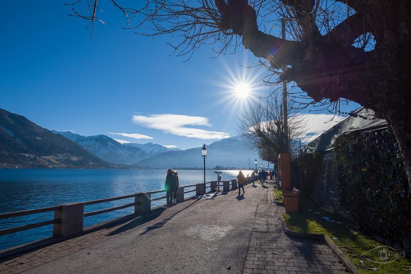 Zeller See, Westseite, Österreich