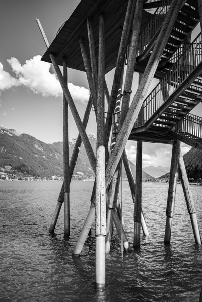 Aussichtsturm im Achensee, Pertisau, Tirol, Österreich