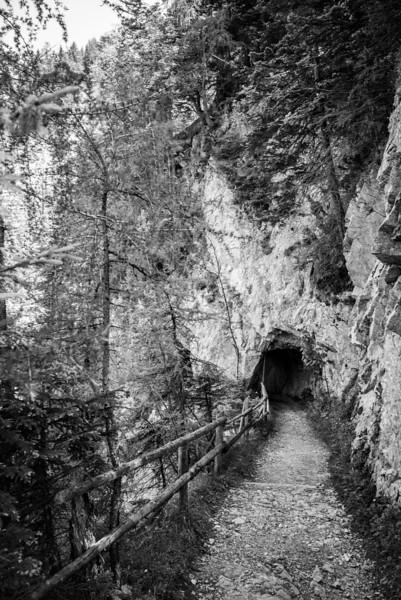 Tunnelweg nach Pertisau, Tirol, Österreich