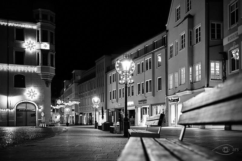 Street-Photography in Augsburg, Stadtmitte, um Rathausplatz, Schwaben, Bayern, Deutschland