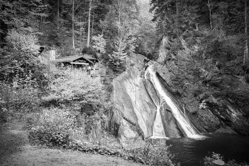 Eingang zur Starzlachklamm, Schwaben, Oberallgäu