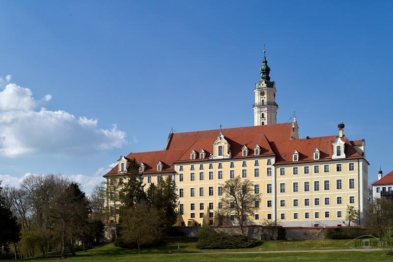Klosteranlage Hl, Kreuz, Donauwörth, Schwaben, Bayern, Deutschland