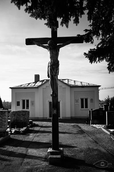 Friedhof in Mering, Schwaben, Bayern, Deutschland