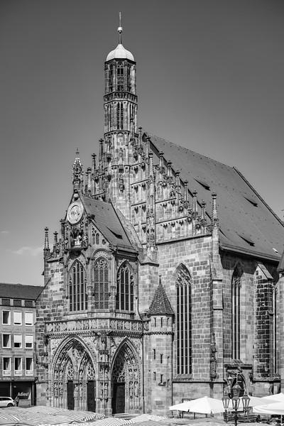 Frauenkirche, Nürnberg, Mittelfranken, Bayern, Deutschland
