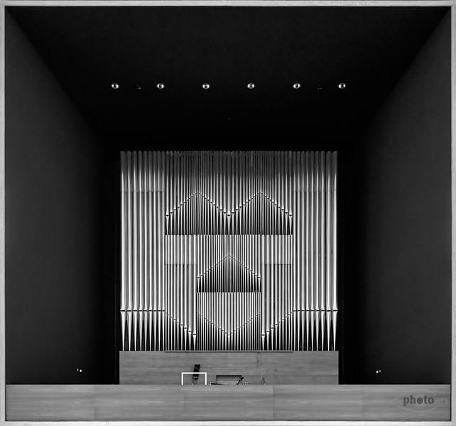 Orgel von der Herz-Jesu-Kirche, München, Oberbayern, Bayern, Deutschland