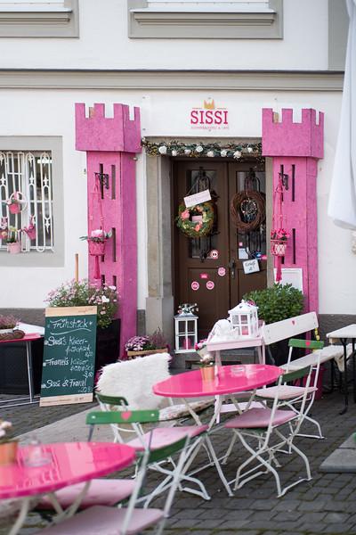 SISSI - Zuckerbäckerei in Kempten, Allgäu, Bayern, Deutschland