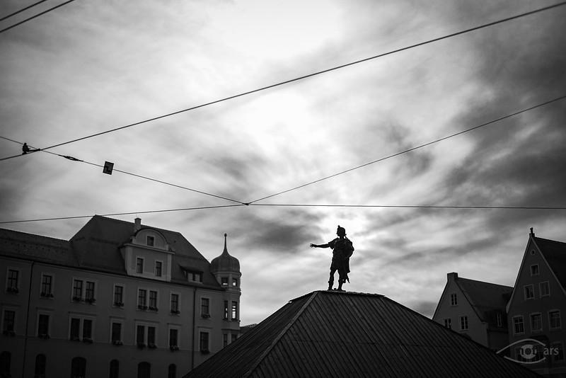 Szenen einer Stadt, Augsburg, Schwaben, Bayern, Deutschland