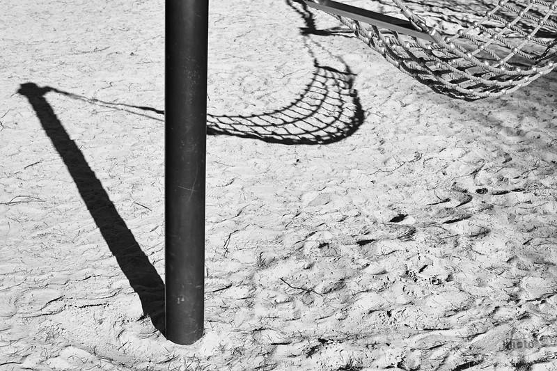 Auf dem Spielplatz am Kuhsee, Augsburg, Schwaben, Bayern, Deutschland