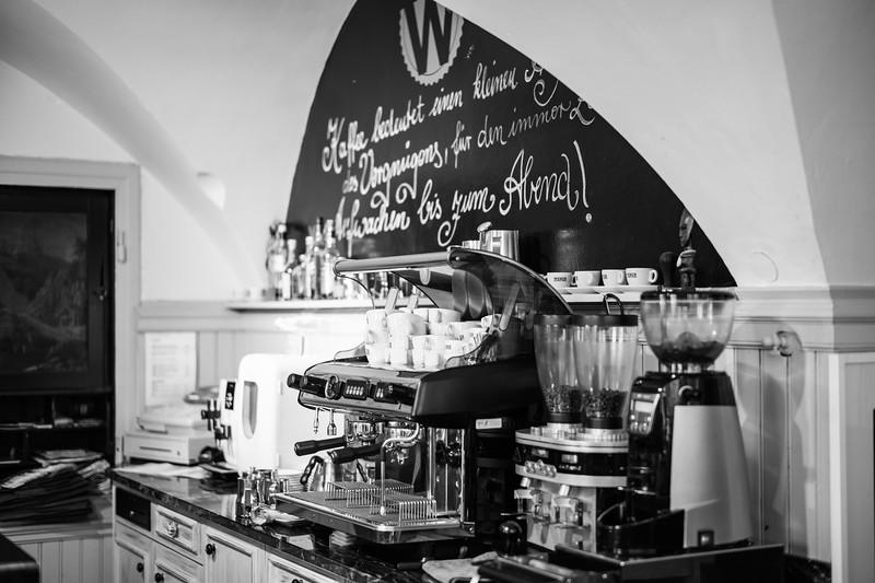 Kaffeerösterei Weber, Kempten, Allgäu, Bayern, Deutschland
