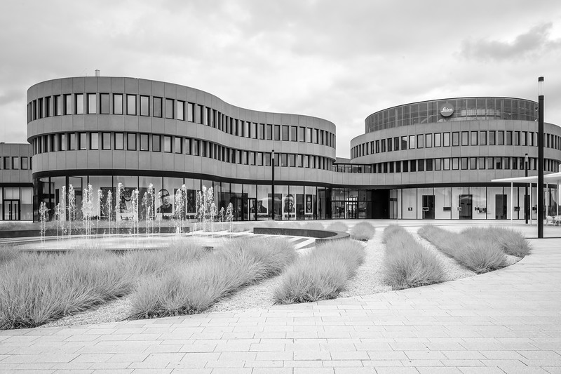 Firmenzentrale Leica , Wetzlar, Lahn-Dill-Kreis, Hessen, Deutschland