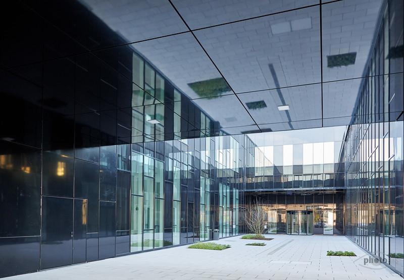 Eingang Frauenhoferinstitut, Augsburg, Schwaben, Bayern, Deutschland