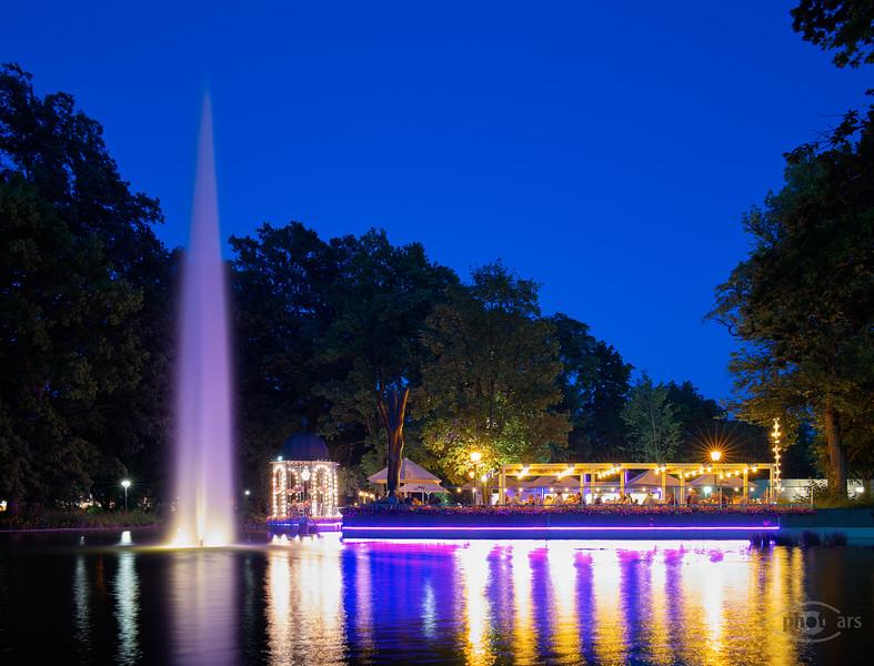 Wittelsbacher Park, Augsburg, Schwaben, Bayern, Deutschland