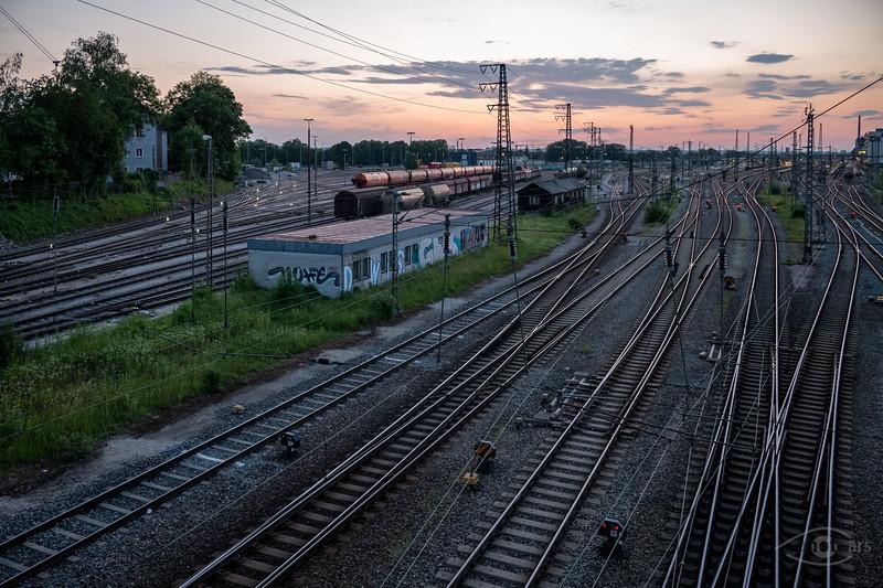 Hauptbahnhof, Augsburg, Schwaben, Bayern, Deutschland